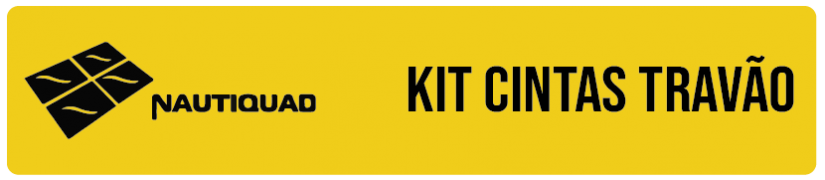 Kit cintas de travão
